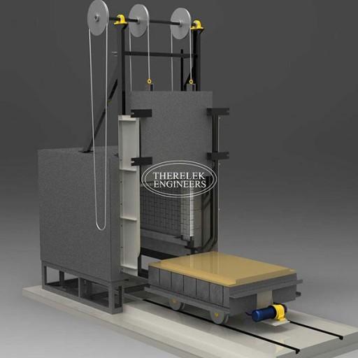 bogie hearth furnace
