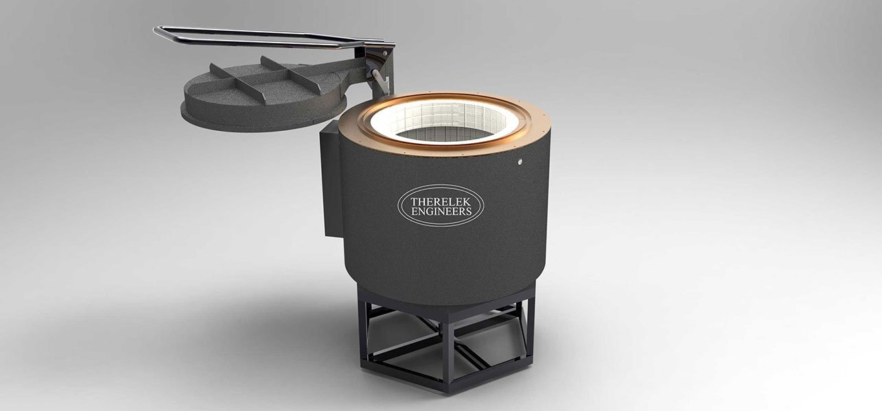 Pit Type Low Temperature Furnace Stress Relieving And