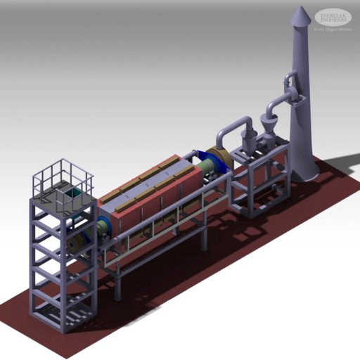 Directly Or Indirectly Fired Rotary Kilns Carbon