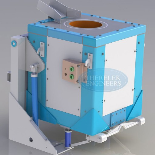 box type induction furnace