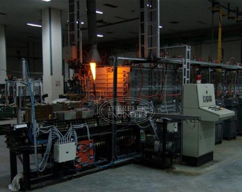 """Continuous sintering furnaces """