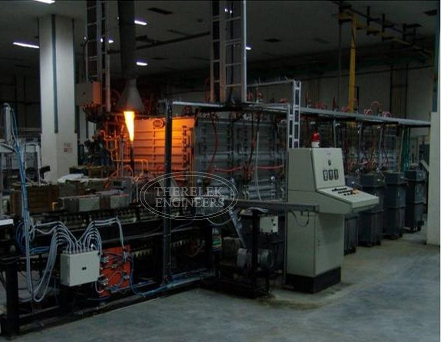 continuous sintering furnace