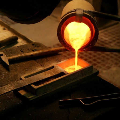 silver melting furnace