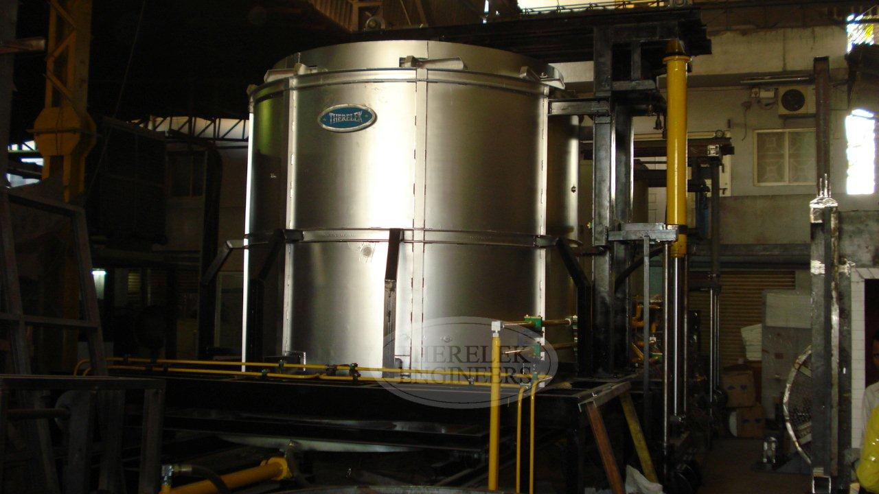 Drop Bottom Furnace Manufacturer Solutionizing Ageing