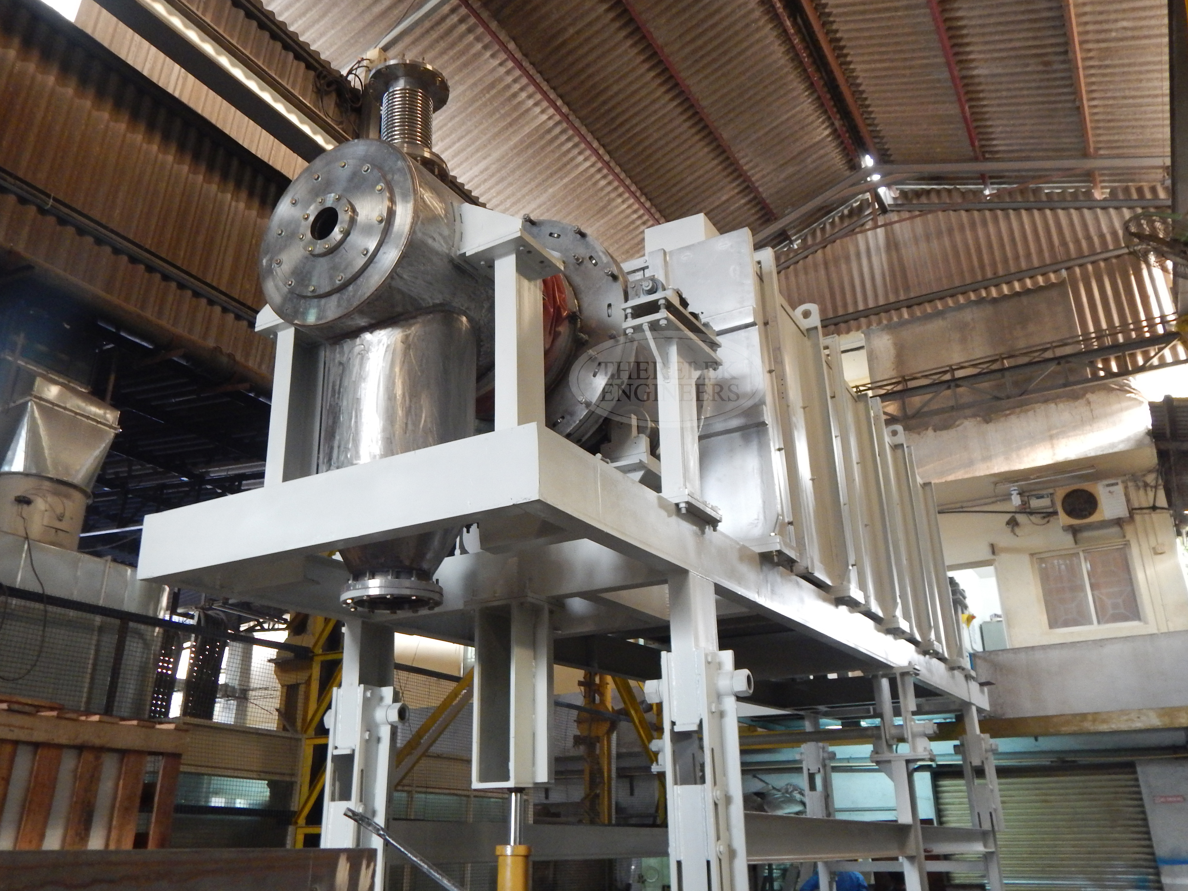 High Temperature Rotary Calciners Manufacturer For Thermal