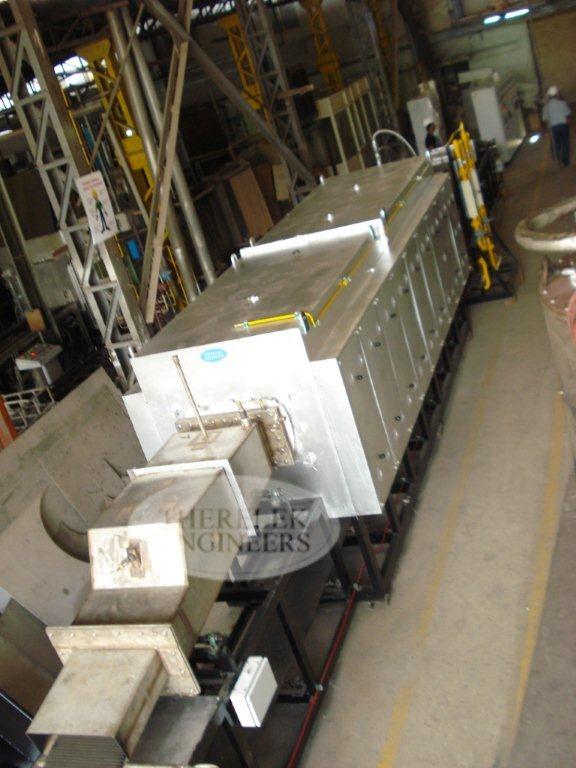 Continuous Mesh Belt Furnace Manufacturer Hardening